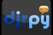Dirpy: descarga de vídeos y audios