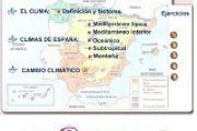 Climas de España Notebook