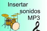 Insertar sonidos mp3