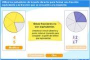 Proyecto PI: fracciones equivalentes