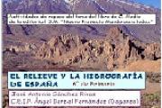 Relieve e hidrografía de España